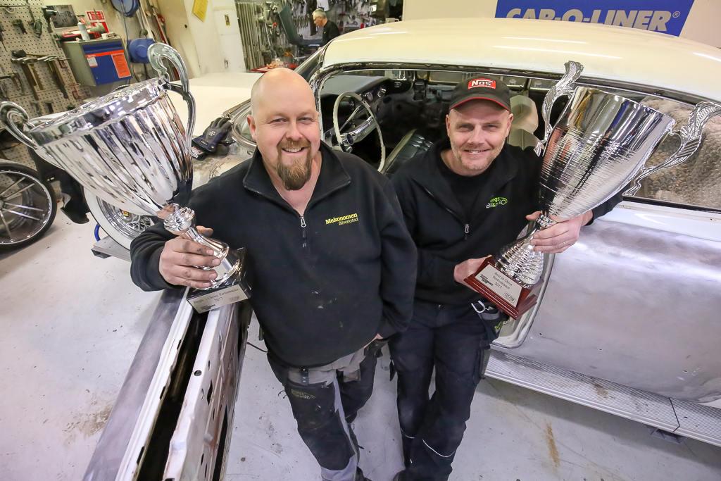 Svegs Bil & Plåt bygger bilar i världsklass. Foto: Morgan Grip