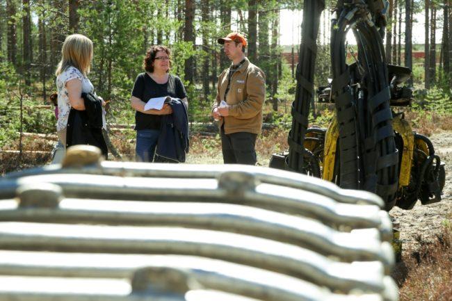 Skogsnäringen visade upp sig i Sveg