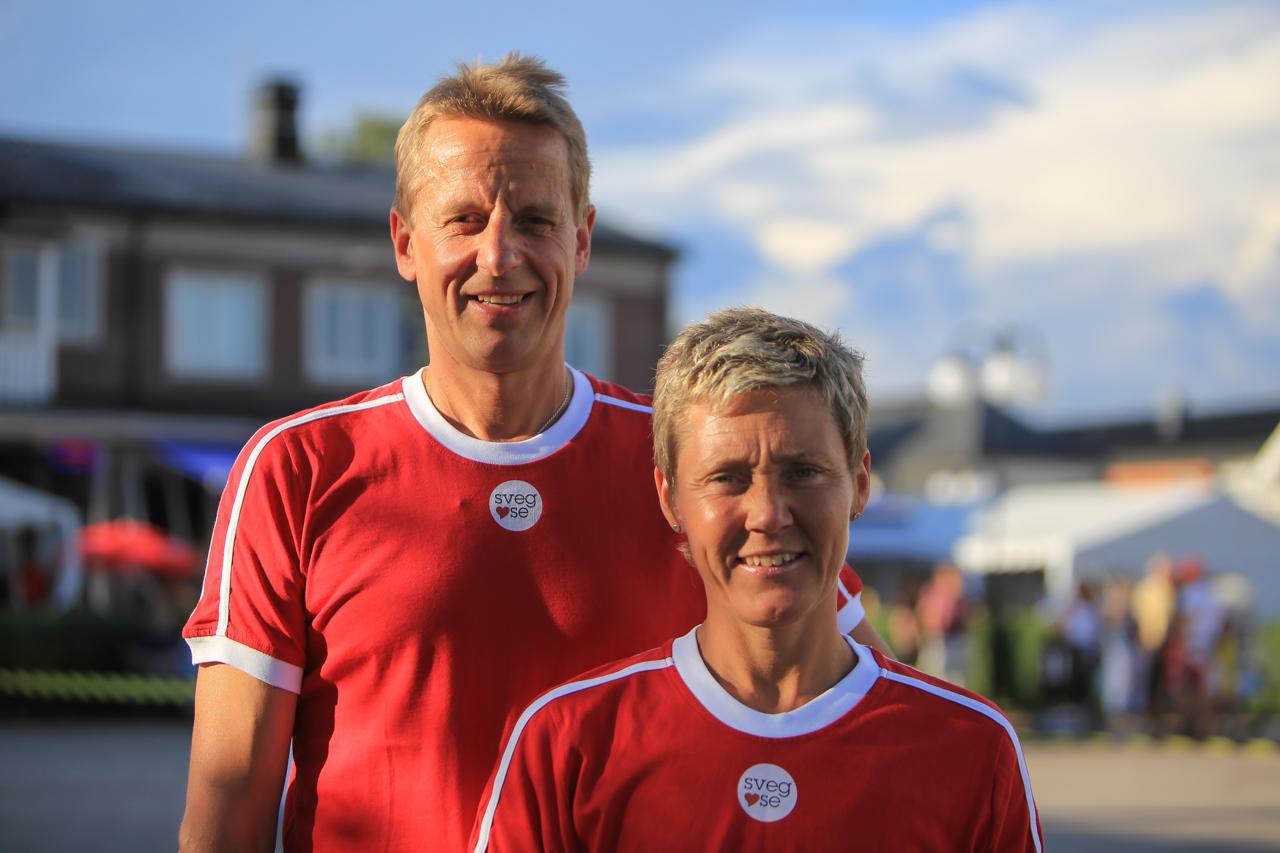 Per Busk och Irene Åslund i Team Sveg.se slutade på en sjundeplats. Foto: Morgan Grip
