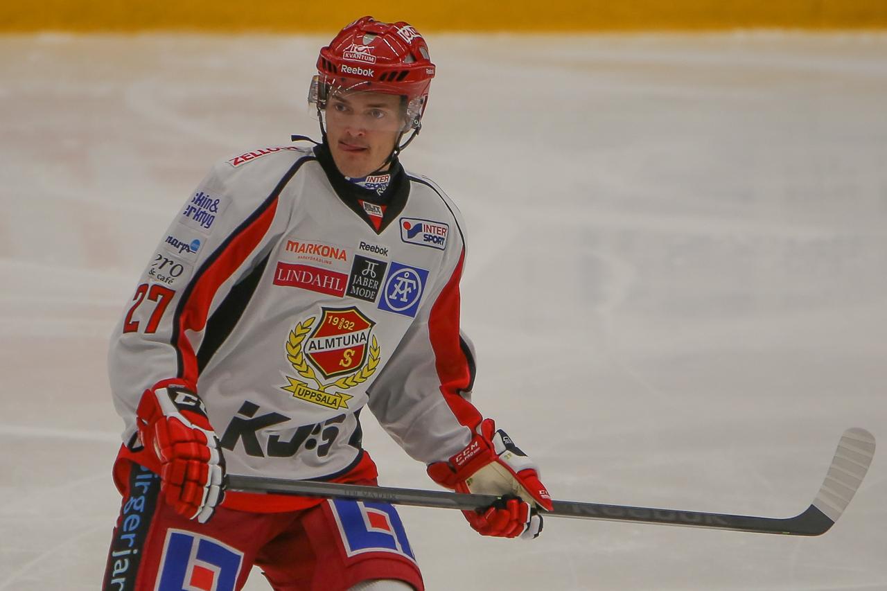 Marcus Högström från Sveg gör succé i SHL