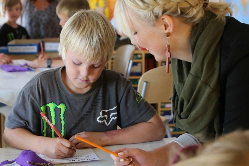 Stipendium ska locka fler till lärarutbildningen. Foto: Morgan Grip