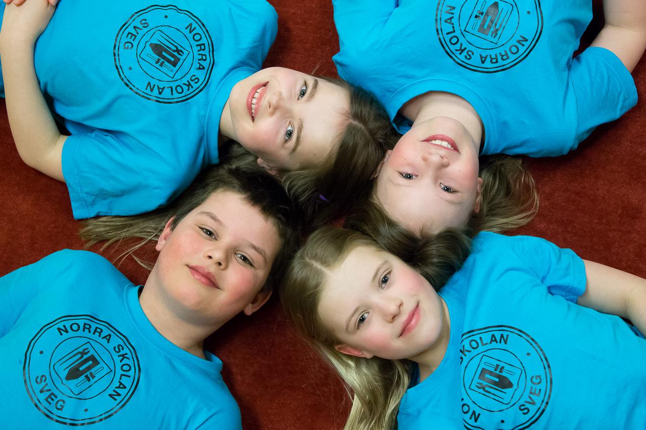 Norra skolan har de snabbaste simmarna i Dalarna och Härjedalen