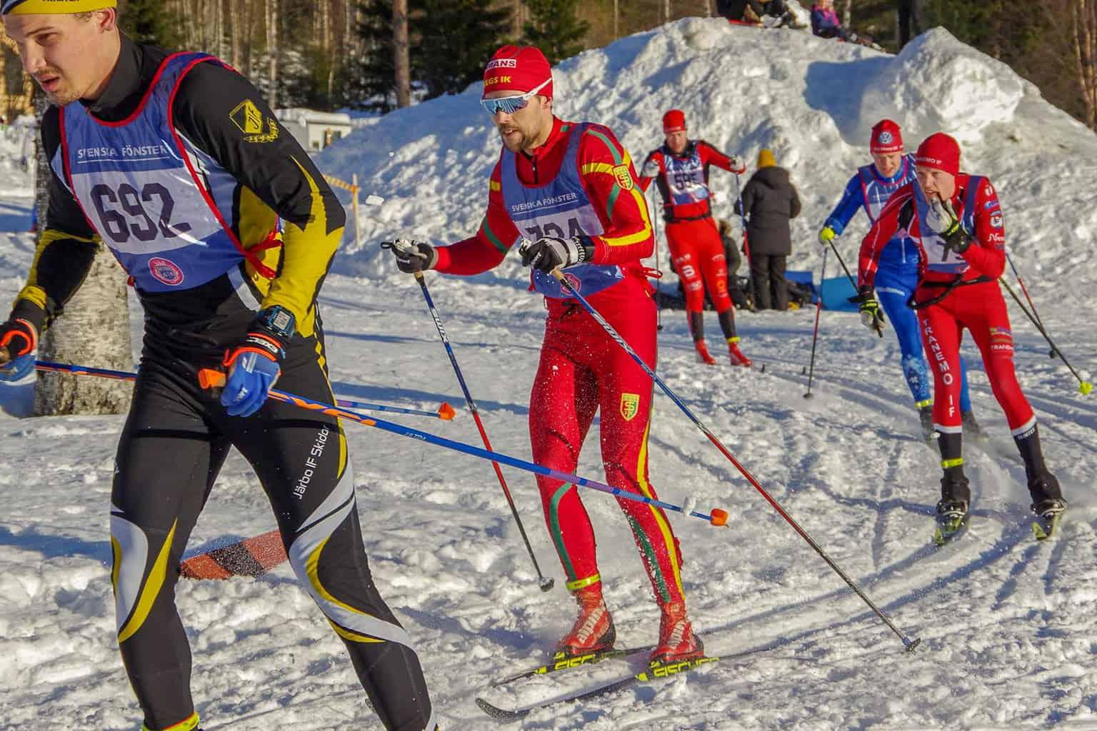 Mattias Widmark, Harsa Ski Marathon 2018. Foto: Ivan Söderkvist