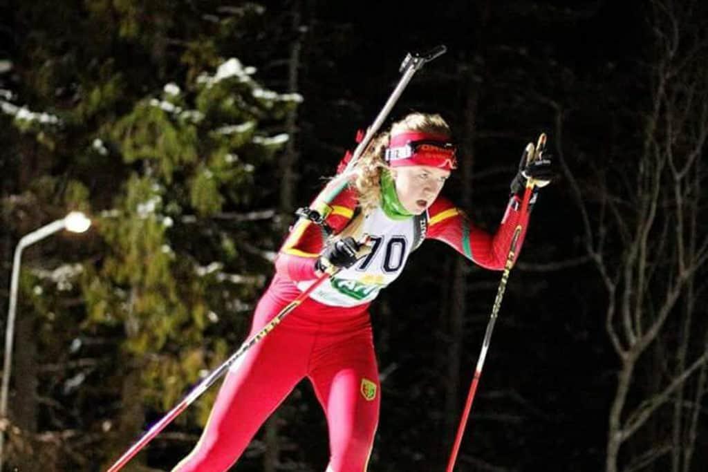 Johanna Grip Svegs IK. Foto: Håkan Blidberg, Svenska Skidskytteförbundet