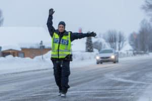 Polisen Sveg. Foto: Morgan Grip