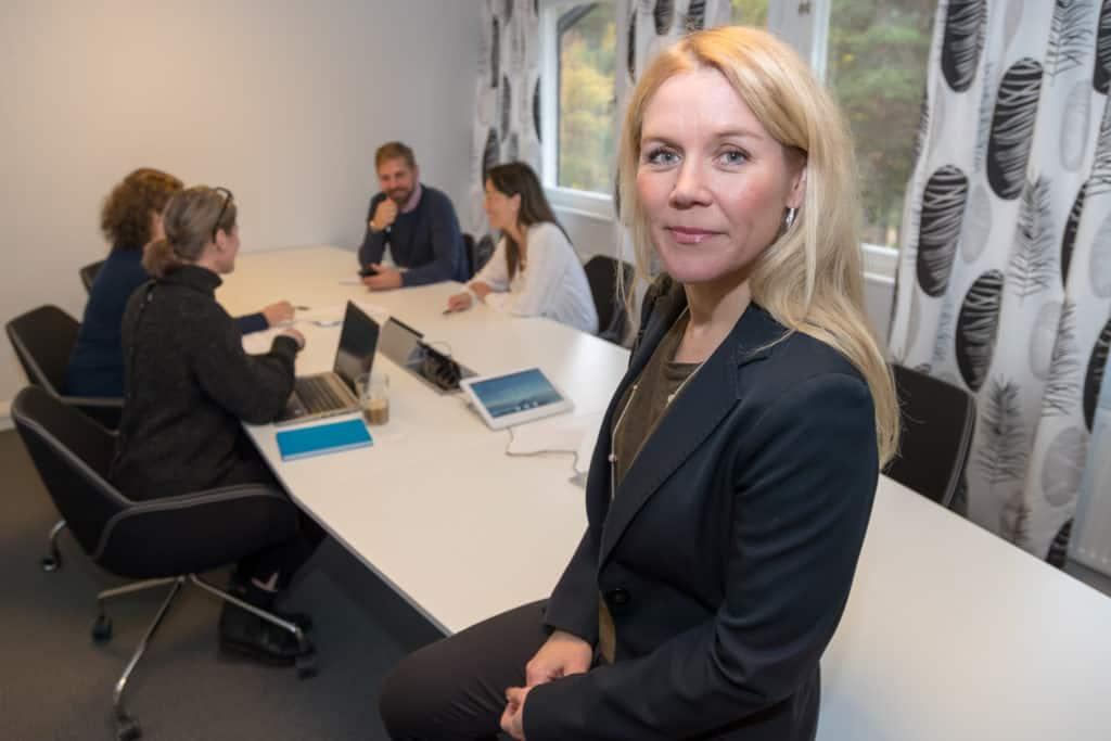 Cecilia Norberg, vd Fyrfasen Energi. Foto: Morgan Grip