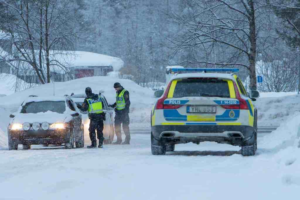 Polisen Sveg. Foto: Morgan Grip