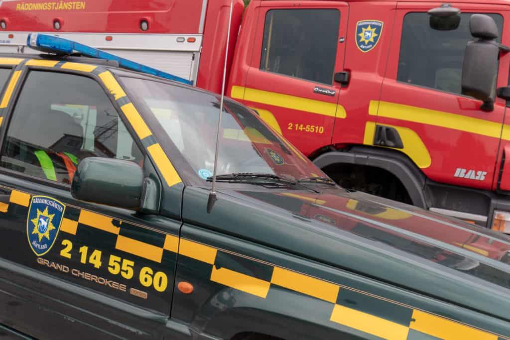 Räddningstjänsten Jämtland. Foto: Morgan Grip