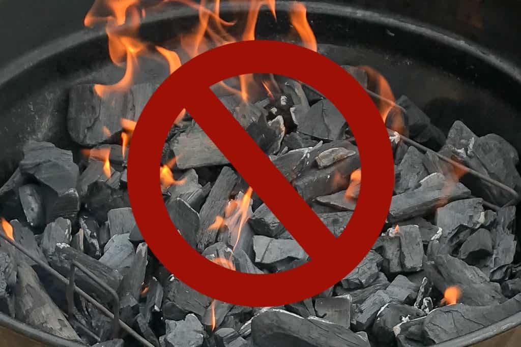 Länsstyrelsen Jämtlands län skärper eldningsförbudet. Foto: Morgan Grip