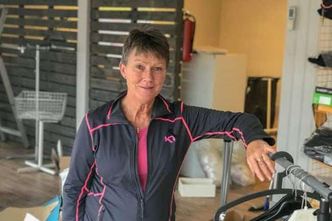 Efter 18 år stänger nu Inger sin butik Maskin & Profil