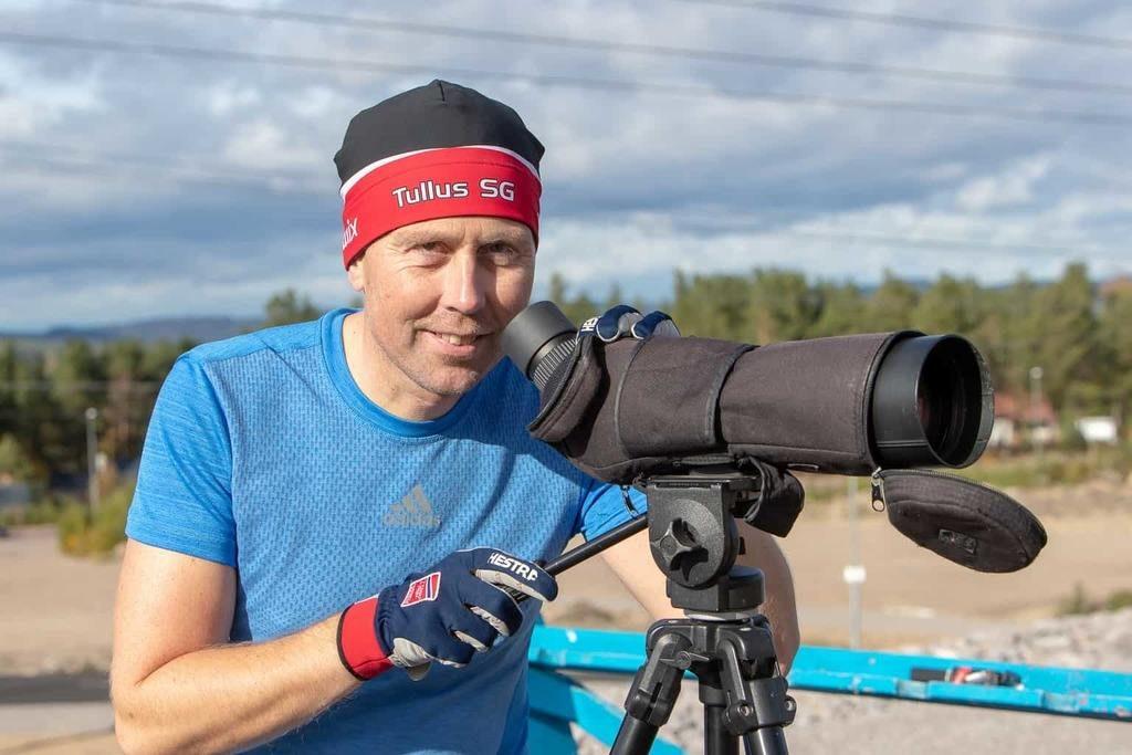 Håkan Blidberg, från Östersundsklubben Tullus, är huvudansvarig och han är jättenöjd med valet att lägga träningslägret i Sveg. Foto: Morgan Grip