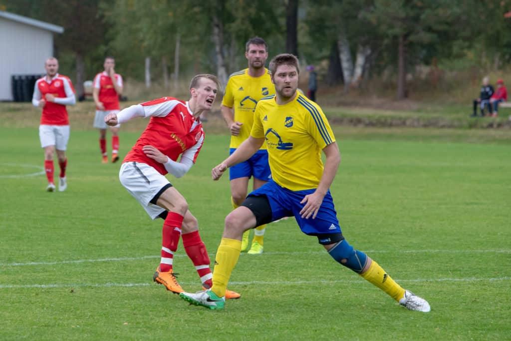 Lillhärdal förlorade lördagens hemmamöte mot gästande Svartviks IF med klara 2-5. Foto: Morgan Grip