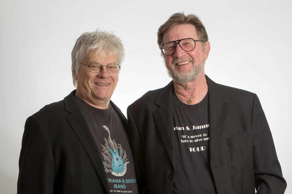 Benghan och Janne Trana med gästartist Gry Sol Karlsson är här med årets jullåt