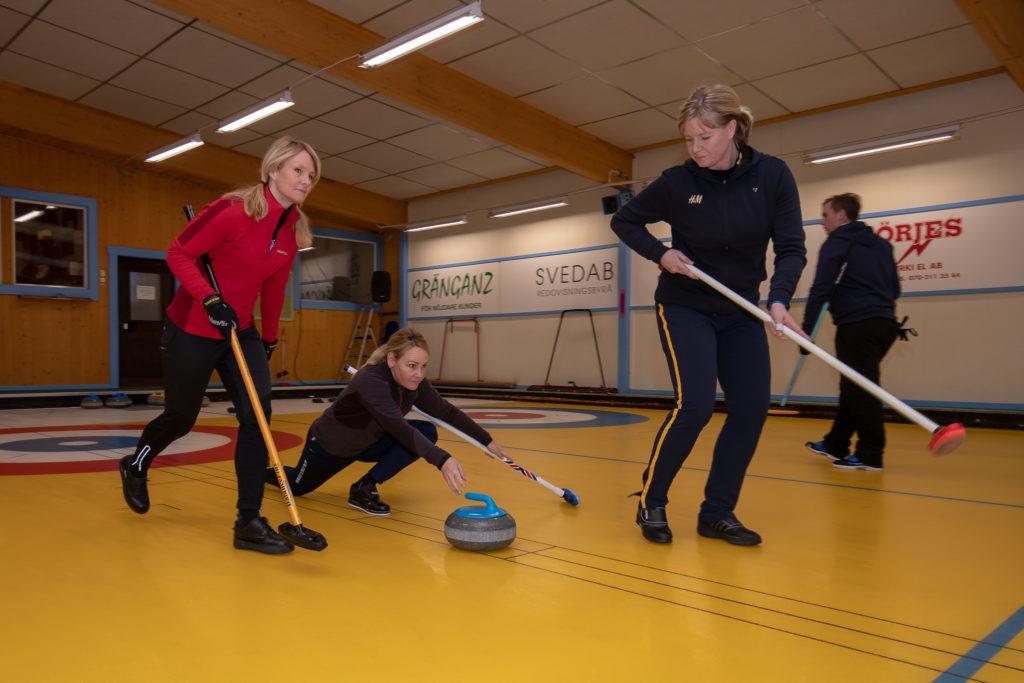 Ulrika Bergman, Anna Le Moine och Mia Boman. Foto: Morgan Grip