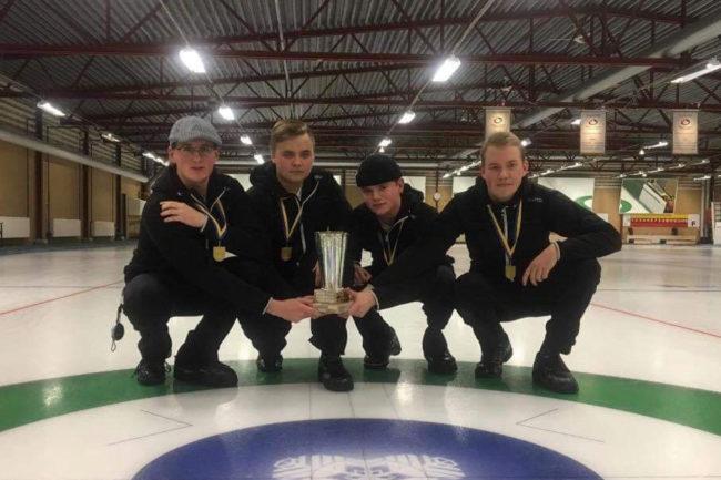 Svegs CK Team Berggren representerar Sverige i JVM i curling