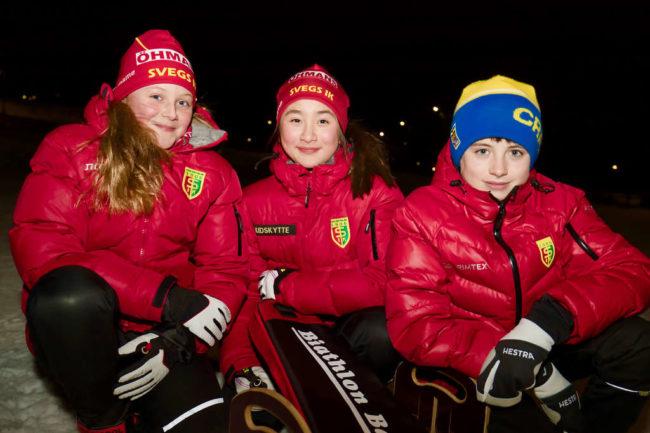 Unga skidskyttar från Sveg uttagna till Riksfinalen