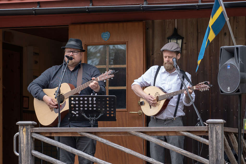 Pedersen & Nilsson stod för underhållningen. Foto: Morgan Grip
