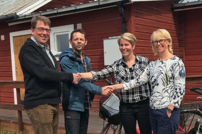 """Susanne och Mikael är nya ägare till Härjeåsjöns värdshus: """"I sommar blir det ett bra komplement till gården, sedan får vi se vad det blir"""""""