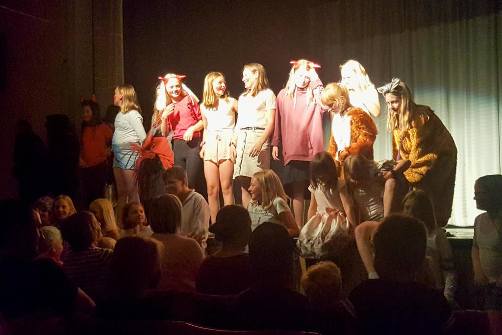 Årets teaterskola i Lillhärdal lockade rekordmånga deltagare