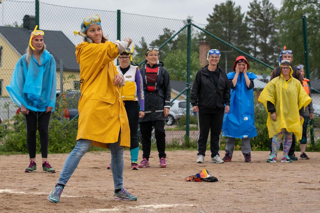 Eleverna vann Norra skolans prestigefyllda brännbollsmatch