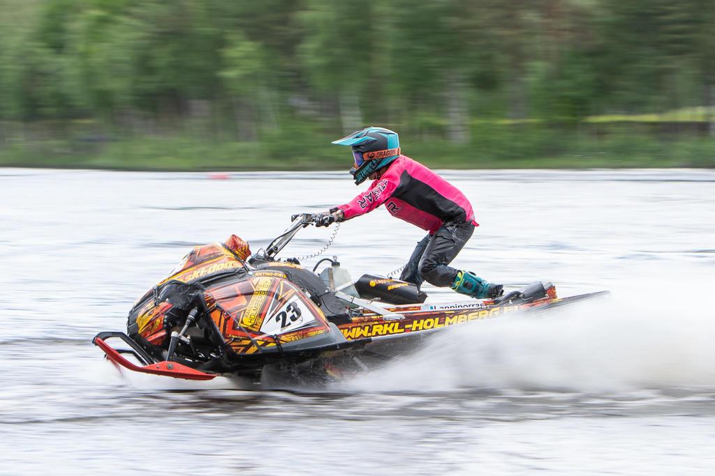 Finländaren Aki Pesonen svarade för en riktigt bra prestation när han tog sig från D-final hela vägen till A-final. Det blev till slut en andraplats för finländaren. Foto: Morgan Grip