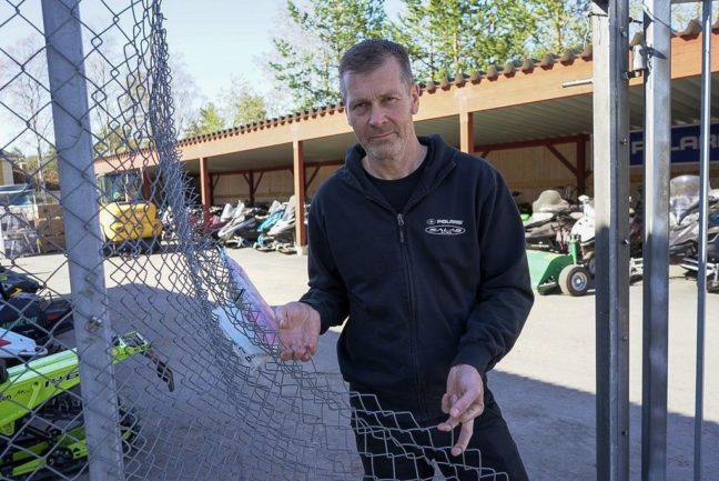 Stulen fyrhjuling återfanns i utlandsregistrerad skåpbil i Värmland