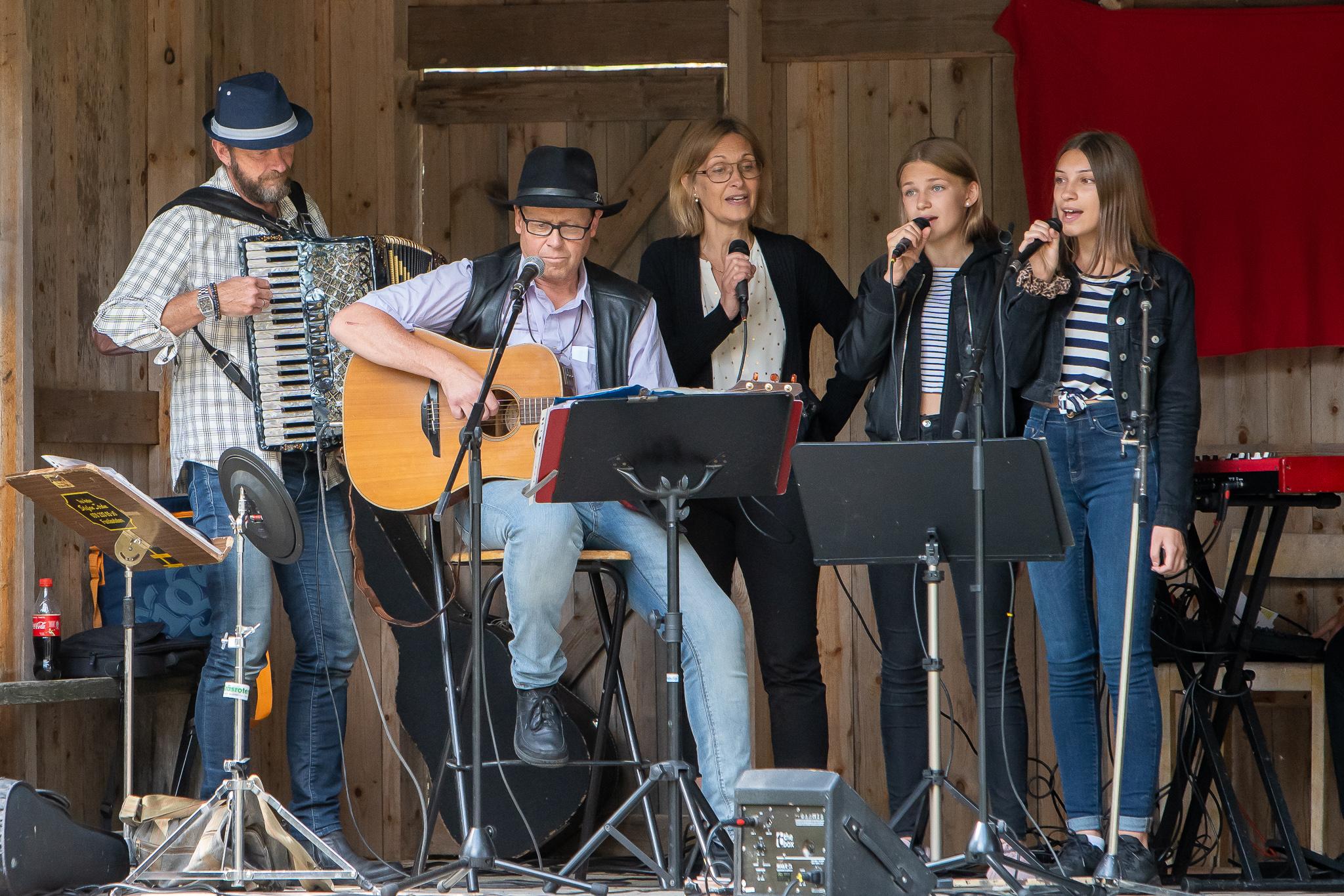 Musik- och kulturfesten i Ängersjö lockade ett hundratal besökare