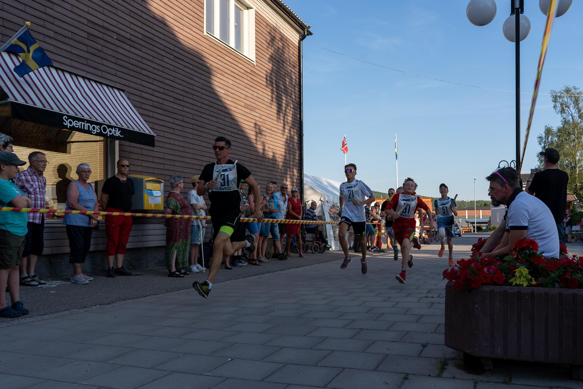 Startskottet har gått för TH-skubbet 2019. #31 Lars-Johan Ångman, Härjedalens Automobilklubb, gick ut hårt direkt från start. Foto: Morgan Grip