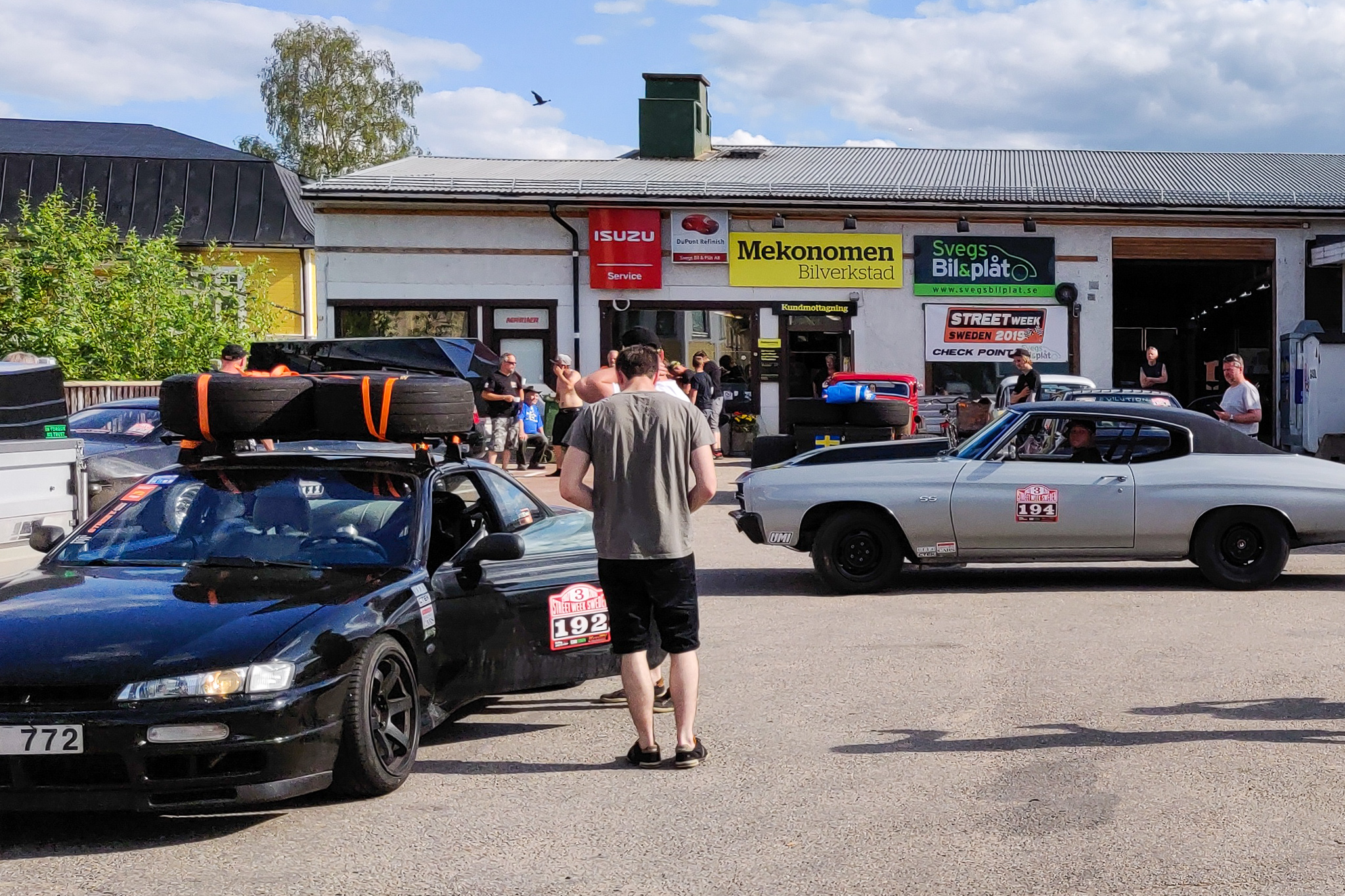 Streetweek Sweden 2019, checkpoint Sveg. Foto: Leif Pålsson
