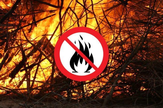 Eldningsförbud i hela Jämtland