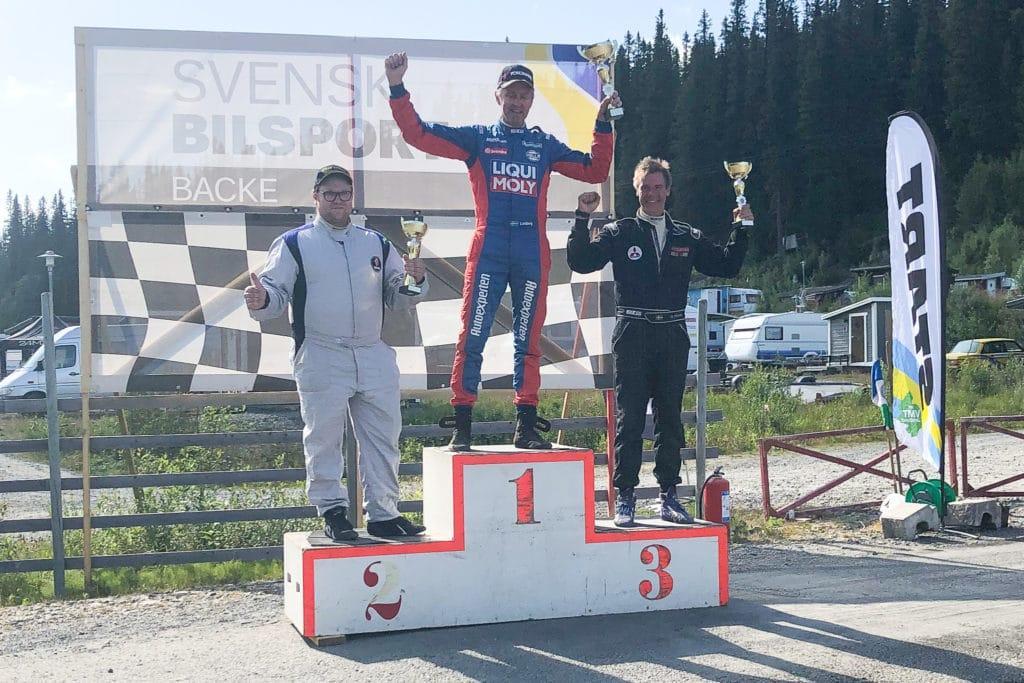 I söndagens deltävling sex i back-SM knep Magnus Proos tredjeplatsen och bronspengen. Foto: Privat