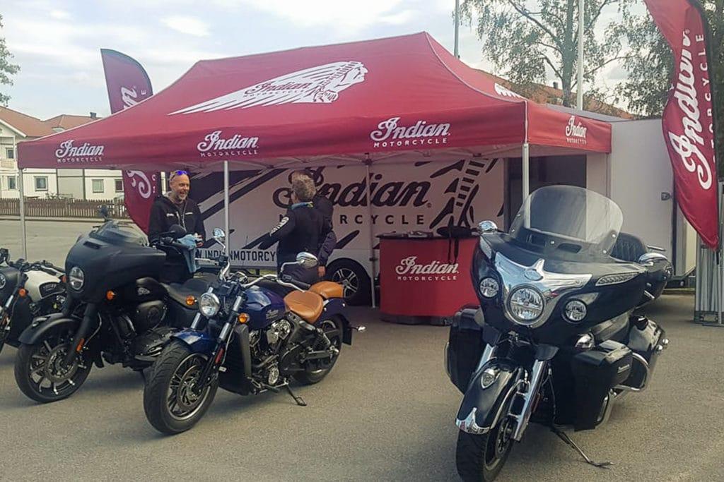 Indian Motorcycles. Foto: Eva Göransson