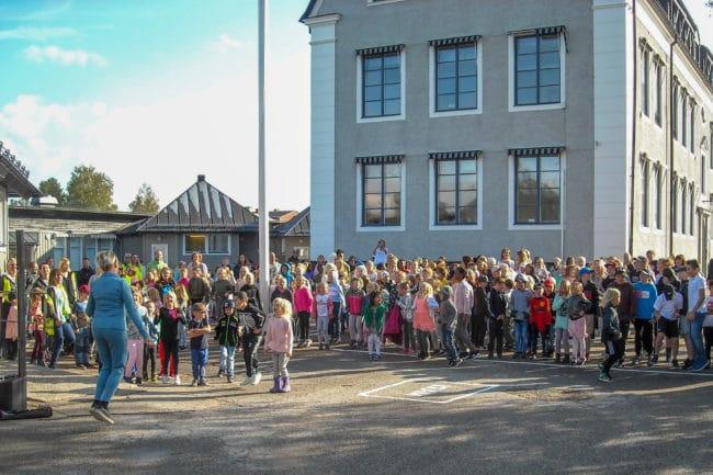 Historiska vingslag – skolstart vid Norra Skolan