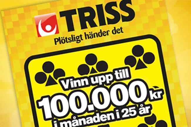 Eivor från Älvros skrapade fram 250 000 kronor på Triss
