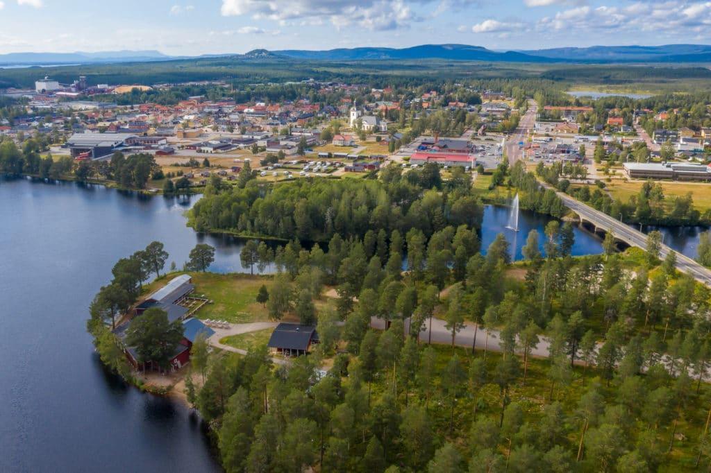 Storöns folkpark, Sveg. Foto: Morgan Grip