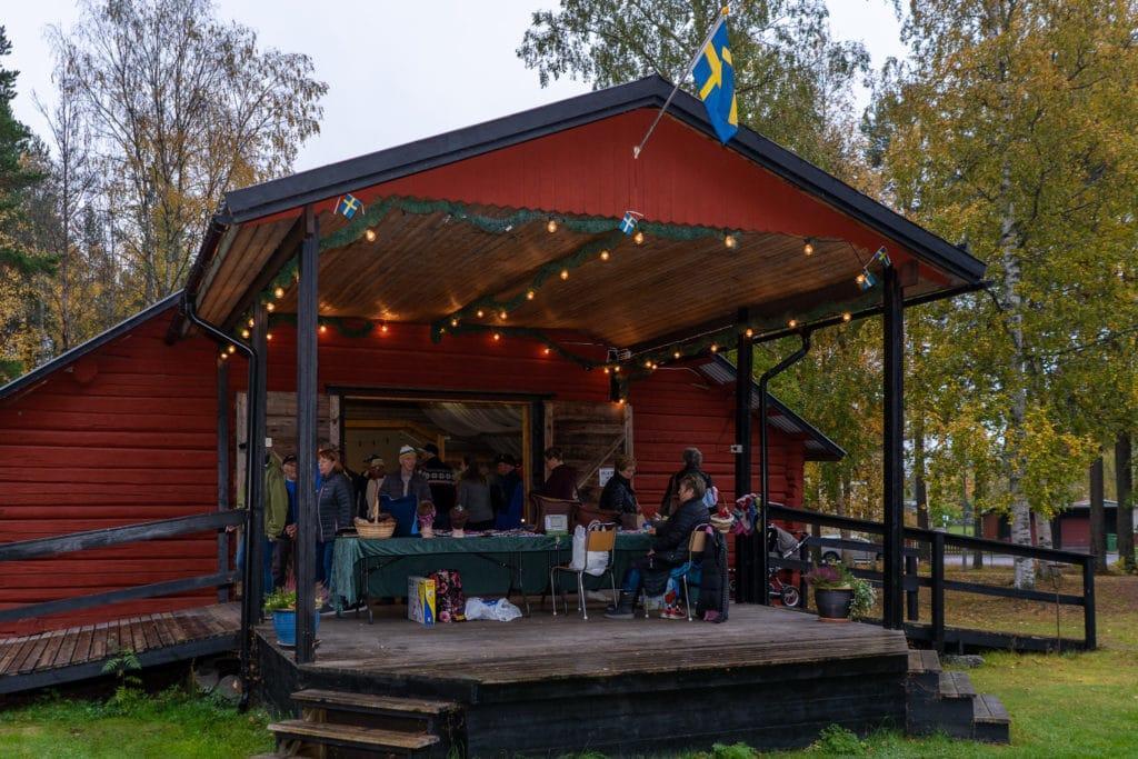 Höstmarknad i Sveg. Foto: Morgan Grip