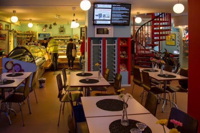 Café Cineast på White Guides lista