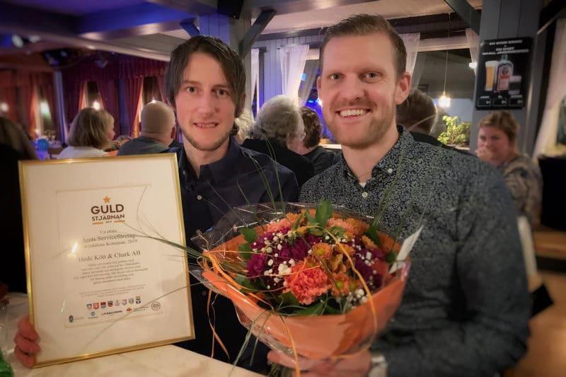 Jesper Eriksson och Niklas Persson, Hede Kött & Chark. Foto: Privat