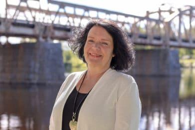 Karin Holmin (VH) är nytt oppositionsråd. Foto: Morgan Grip