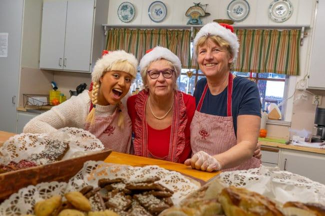 Välbesökt julmarknad i Sveg