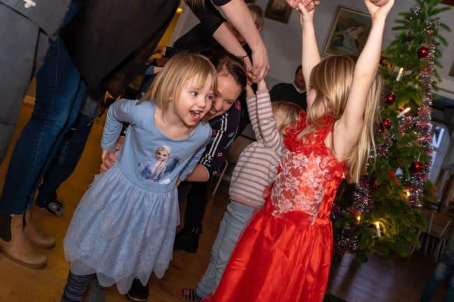 Julen dansades ut i Ytterberg