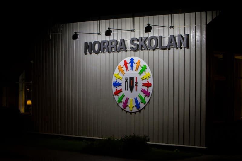 Kränkande meddelanden mot två anställda på Norra skolan i Sveg. Foto: Morgan Grip