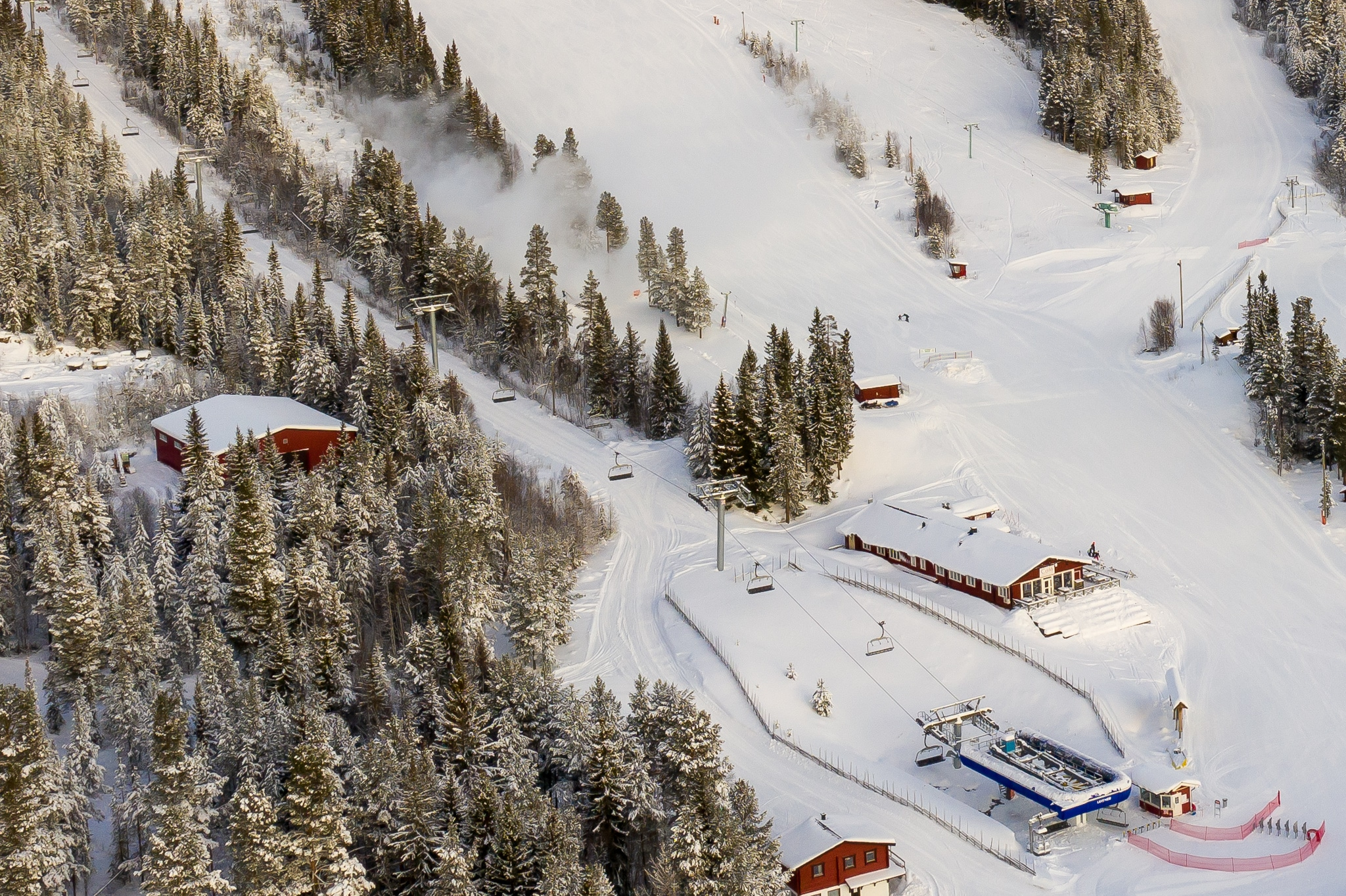16-åring föll från sittlift i Lofsdalen