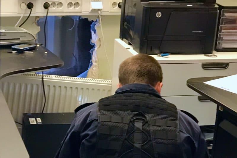 Nattligt kassaskåpsinbrott hos Dollarstore i Sveg