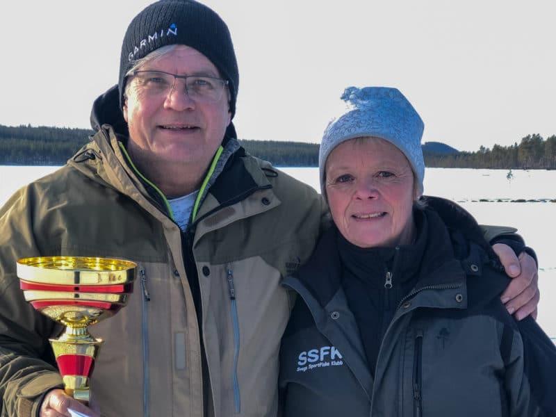 144 fiskade efter segern i Målingspimpeln