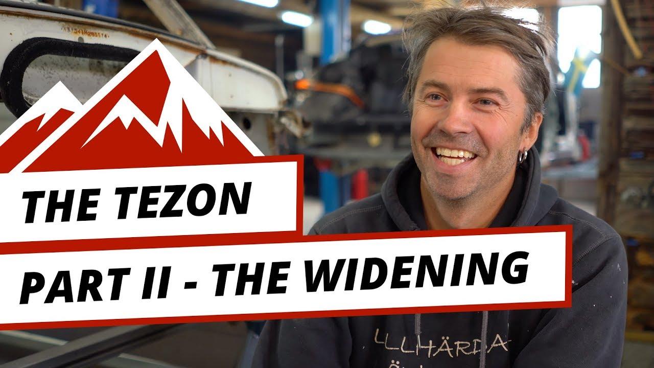 The TeZon – del 2: Det unika bilbygget börjar ta form