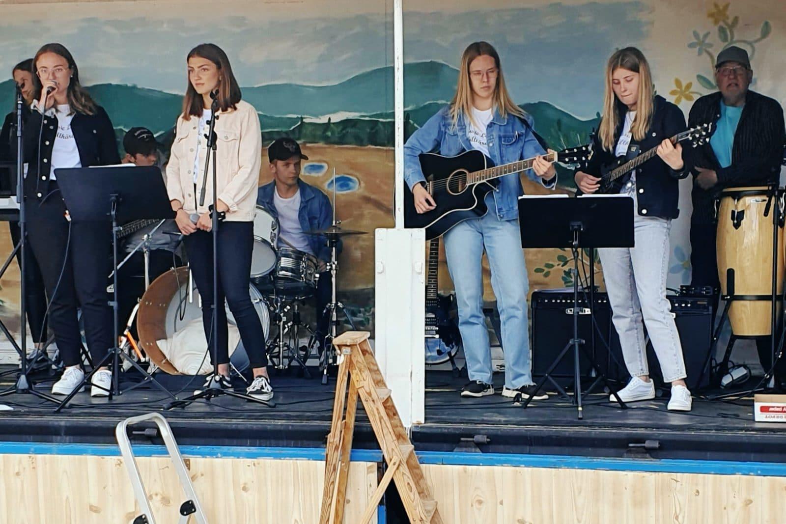 Kristihimmelfärdsfest i Lillhärdal i Härjedalen 2020.