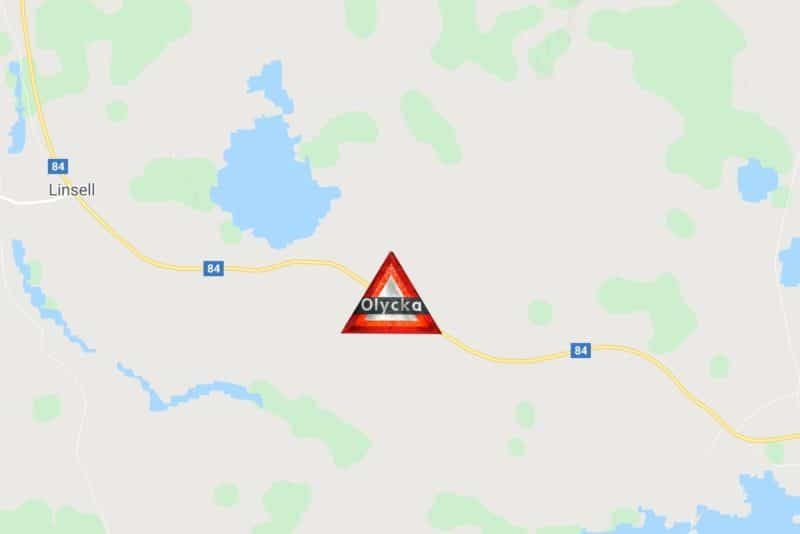 Tre MC-förare i olycka utanför Sveg
