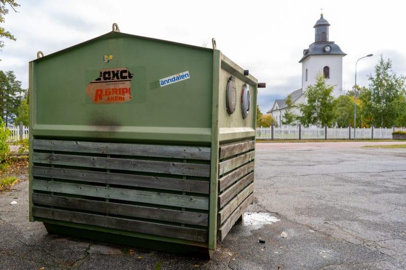 Sopcontainer på Jämtlandsgatan brann igen