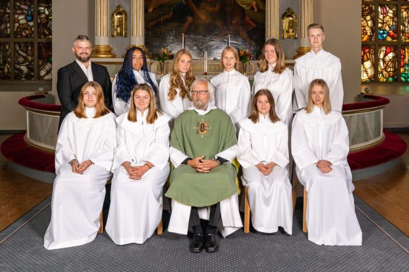 Konfirmation i Svegs kyrka 2020